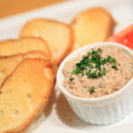 One of the preserved food pork Rillettes are recommended
