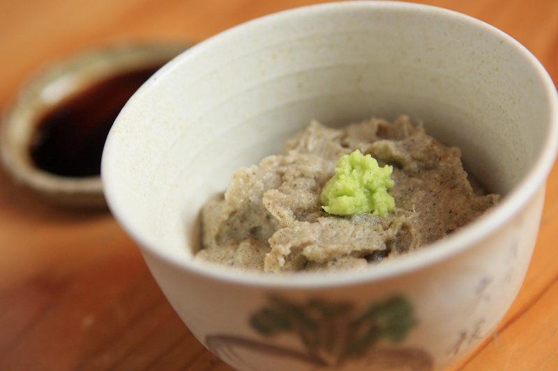 会津の蕎麦がき