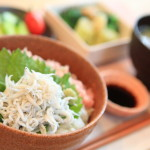 """SURUGA Bay oven fried whitebait and Negi Toro donburi"" in breakfast I was pleased"