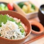 """SURUGA Bay oven fried whitebait and Negi Toro donburi"" in breakfast I was pleased"