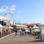 Explore the waterfront Harbour and shopping