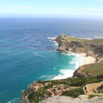 While watching the spectacular Cape Point two oceans restaurant wine lunch