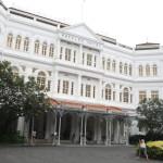 東洋の真珠、白亜の貴婦人と称されるラッフルズホテルでシンガポールスリング