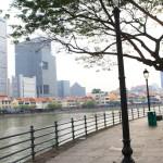シンガポール近代化の出発点が望めるラッフルズ・プレイス