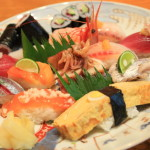 "YAIZU Harbor area fish nigiri you see chōji""plate"