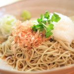 "Hot summer have Soba ""buckwheat noodle house Ōmori"" at, in your throat"