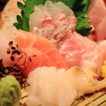 ABURI DINING OAZY and AJI sogawa shop flush of fresh sashimi in Toyama and seasonal seafood Tavern dining
