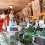 """富山縣環境機構選擇全國供應空房的谷水洞市場這個""""奇妙的泉水水中。"""