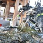 """在富山市、深受居民""""石藏町 enmei 菩薩清水。"""