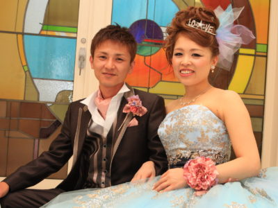 """Celebrated"" bamboo-Chan I & Risa-CHAN's wedding photo album"