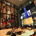 Ginza civilization-do Ginza gochome shop lounge in town take a break while watching the people go
