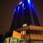 """在米蘭郊區""""樞紐酒店樞紐酒店""""是現代和時尚"""