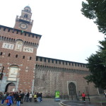 Sforzesco Castle Milan Renaissance's greatest and in the Museum