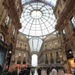 "Beautiful Italy one cross type arcade ""Vittorio Emanuele II Galleria"