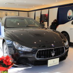 Maserati sakurayama visit new Ghibli delivery starting December