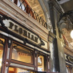"Alive with the history of the city in Piazza San Marco Venice's oldest comfort Cafe ""Cafe Florian"""