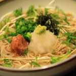 Makinohara parents ' dining peak ' at temperature and cold handmade soba noodles and rice bowl full!