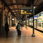 Introduce how to buy tickets in Italy railway train and ride from Florence central station