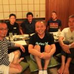 牧之原の実家「食事処 峰」にて東京よりお越しのゲストのサプライズ誕生日会