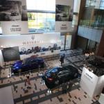 Tokyo Midtown in new 'Maserati Ghibli! 100-year anniversary celebration!