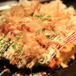Okonomiyaki Okonomiyaki mental surface carissacug and in a floaty moist delicious