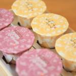 大正13年創業「風土菓 庵原屋」のプリンが桐箱にマセラティの焼印をまとってお土産に