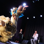 """Flamenco Soul Tomomi Otsuka Theatre Flamenco in portetheater ' is was a great success!"