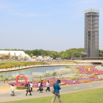 """Hamana Lake Expo 2014 ~ celebration of flowers and green ~ ' in Hamana Lake garden park final day!"