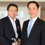 Evening wine and French at hamanako Royal Hotel with sommelier Makoto Abe spend