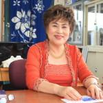 三方原町にある「あい不動産」の代表・神谷愛子さんにご挨拶!