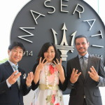 "Relay Maserati Hamamatsu '100th anniversary Memorial relay Maserati centenary journey""to the point!"