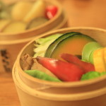 Lee Lee's creative cuisine with vegetables making up good colorful China
