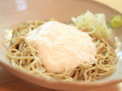 """Aspire Soba hand-ground scent with """"Soba House oomori"""" and your throat"""