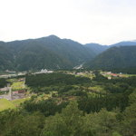 Raichou Valley, overlooking Tateyama Mountain foothills and Toyama Bay! Ride the gondola to the Summit of the 1,188 m!