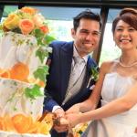 「Nelson&Izumi結婚披露宴 in アマンダンライズ」2人の門出を祝して乾杯!