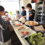 "Great lunch buffet organic Café ""KAGIYA CAFE cagiyacafe"