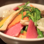 Visit the day might want to eat a lot of vegetables Chinese dishes 100 Ka 摂renai usually quite