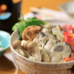 Jcccnc direct coverage! I'd like to season Hamana Lake from Oyster miso hot pot