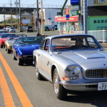 """Maserati Day 2014"" sack → parade run old and new Maserati to sail fast between Hamamatsu"