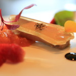 "The chef Omakase course at ""THE DINING"" in the ""di Oriental Terrace Torizen"""