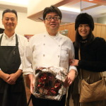 Now and forever renal anniversary at a party to celebrate the heartfelt Onoe Sung, Chef hospitality