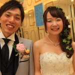 """鴨藤-Kun & vegetables Minako-Chan"" surrounded by buddies who celebrate the marriage and animal love party filled with"