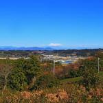 実家である「牧之原」へ帰省し、初富士・初県立公園静波海岸へ