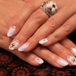 "Arrange the January campenenail at the nail salon ""luminosiate"""