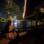 使用免費穿梭船提供的曼谷半島酒店和公共遊船!