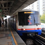 Bangkok Skytrain on urban tourism travel time to be smart!