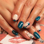 A playful and pop in the nail House liberty gel nail art await the spring