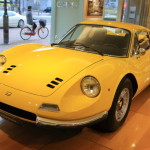 Watch the Ferrari Dino other Dino 246GT Tipo E at the CORNES Sakae showroom