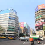 Explore the trendy Street in Taipei's Zhongshan station neighborhood luxury hotel, famous brand shops