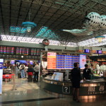 抵達臺灣桃園國際機場! 信步走進機場和入住!